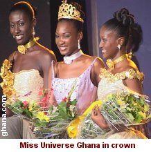 Miss Universe Ghana 2002