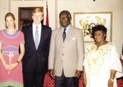 Dutch Royals in Ghana