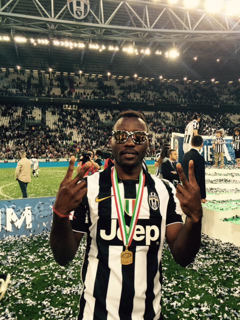 Kwadwo Asamoah: Italian League & Cup Champ