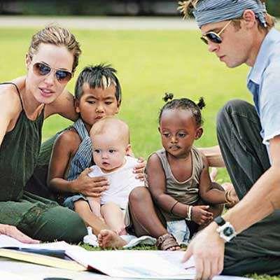 Britney Spears on Brad Pitt, Angelina Jolie: 'I'd like to become their nanny'