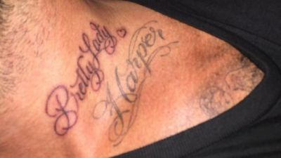 David Beckham gets new tattoo for daughter Harper