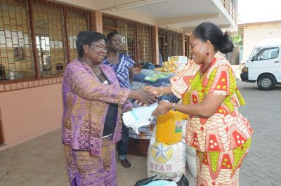 Second lady supports orphanages