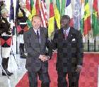 Kufuor Meets Chirac In Paris To Discuss Cote D'Ivorie
