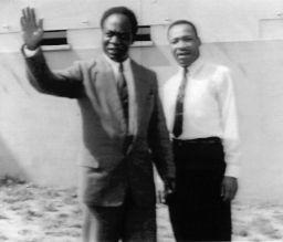 Nkrumah & Martain Luther King