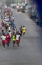Gifty Koomson, Simon Ayitey win C/R Marathon (photos)