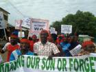 Wa residents organize demo in support of Nyantakyi (Photos)