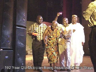 102 Years Old Musician @2003 Music Awards