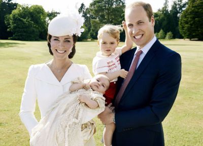 Photos: Princess Charlotte's christening pictures released