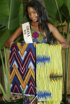 Serena Ashi-Roye: Miss Ghana 2003 @ Miss World in China on Dec. 4