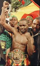 Azumah Nelson  Inducted Into Hall of Fame