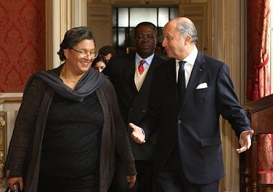 Meeting between the Ghana & French Minister of Foreign Affairs