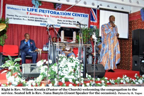 Life Restoration Temple dedicated to God | Photos