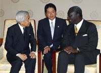 President Kufuor  In Japan