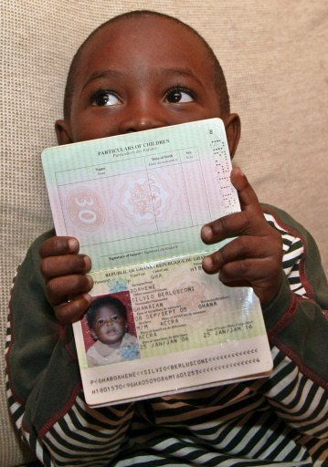 Ghanaian child named after Silvio Berlusconi