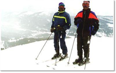 The Ghana Ski Team Visits Montana