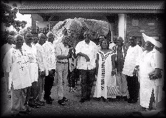 President Meets Volta NPP