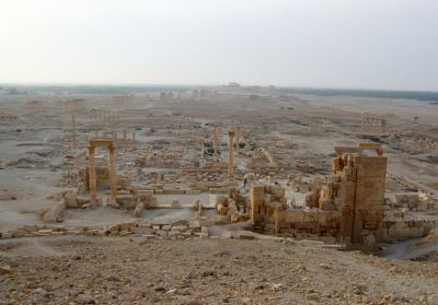 Photos: UN confirms major temple destroyed in Syria's Palmyra