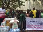 Photos: Jordan Ayew donates to orphans of Kigali