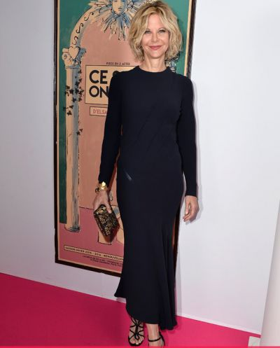 Meg Ryan makes extremely rare red carpet appearance