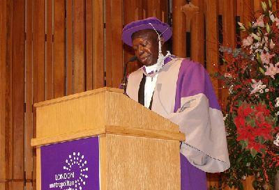 Asantehene Recieves Honorary Doctorate Degree Award In London