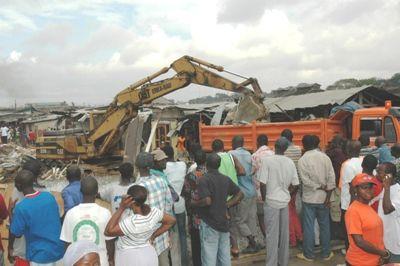 Demolition of  Kantamanto