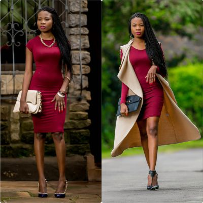 Fabulous burgundy styles you must rock