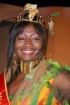 Miss Africa Queen  - Monica Mbillah