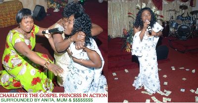 Charlotte, The Gospel Princess Launched Debut CD