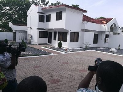 Sports Ministry hands over 3-bedroom house to Black Stars coach