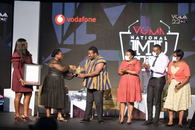 Sidiku Buari, Prof John Collins, Ken Kafui & Big Ben honored as VGMA Titans
