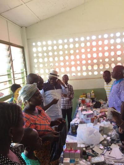 George Andah holds free medical outreach for constituents
