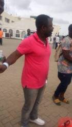 Handcuffed Ghanaian deportees arrive at Kotoka from US