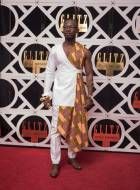 Ghana's Black Panther? Okyeame Kwame appears at Glitz Style Awards in unique style