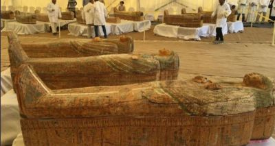 Amazing find of 3,000-year-old ancient Egyptian mummies