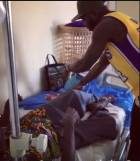 Sulley Muniru visits patients and donates to hospital in Ghana