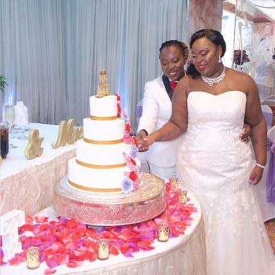 Two Ghanaian lesbians marry in Holland