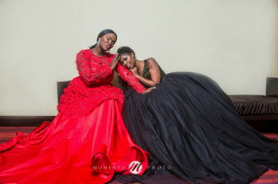 Selly Galley and Anita Erskine team up for powerful photoshoot | Photos
