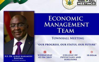 Cedi Fall: Bawumia speaks April 3