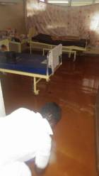 Tamale Teaching Hospital flooded