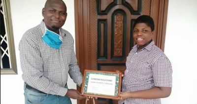 Stratcomm Africa rewards winners of reading and writing competition