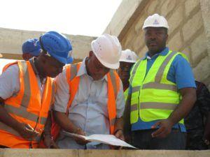 Sports Minister inspects Ashanti Region's Sports Complex