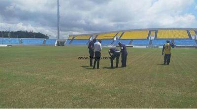 CAF team inspects Cape Coast Stadium ahead of AWCON 2018