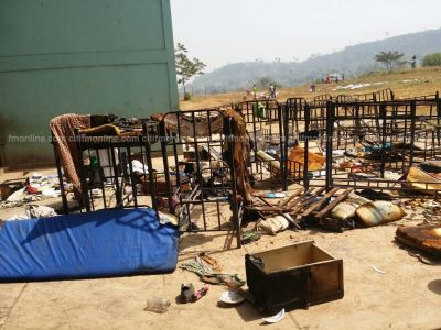 Agogo State College fire displaces over 40 students