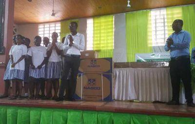 Saint Mary's Senior High School wins Model Dam Competition