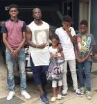 Stephen Appiah shares adorable photos of his family