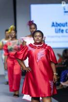 Glitz Fashion Week: Comedienne Jacinta hits the runway in full glamour