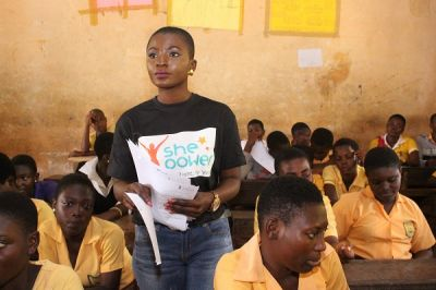 She Power: Ahuofe Patricia leads campaign against sexual abuse
