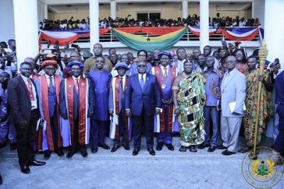 Prof. Afful-Broni inducted as new UEW VC despite raging controversy