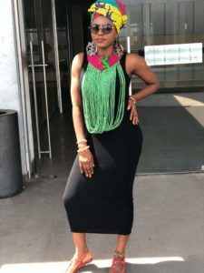 The brain behind Nadjoa Beads and Accessories