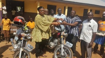 Nambagla community gets new school block
